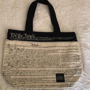 The National Archives canvas tote bags 17x13